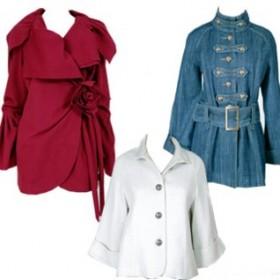 Мода Осень Пальто Куртки